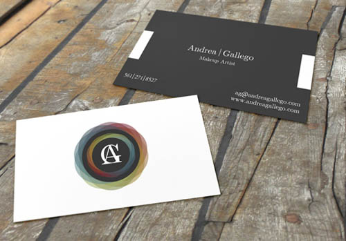 14 Make Up Artist Business Card Examples