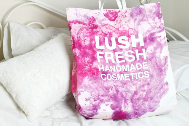 Lush oxford Street haul cosmetics simple synth