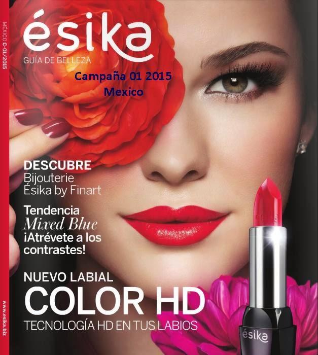 Catalogo Esika Campaña 1 2015 mexico