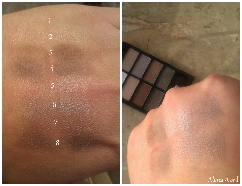 """тени для век """"100% цвета"""" от Oriflame"""