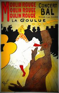 Lautrec, Moulin Rouge, La Goulue, 1891