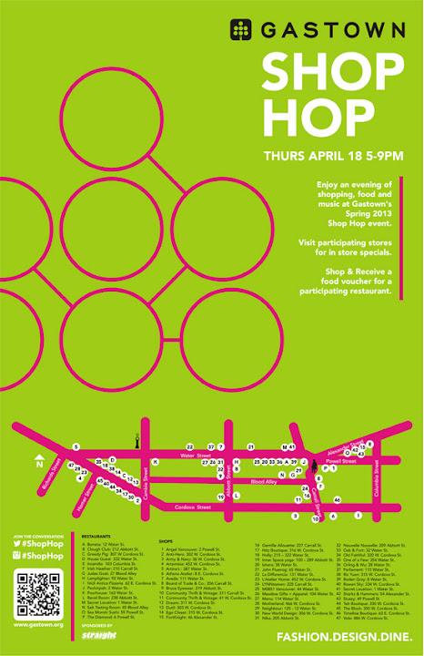 Gastown Shop Hop 2013