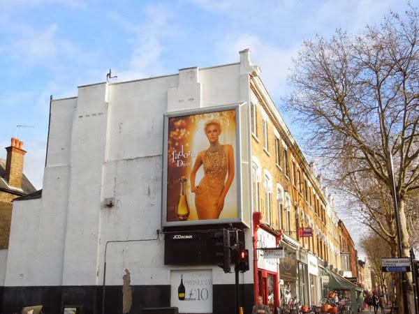 Dior J'Adore perfume billboard London