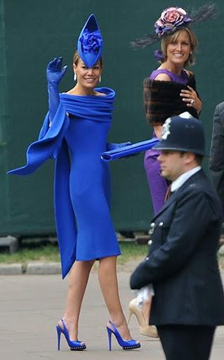 най екстравагантно облечената дама на кралската сватба