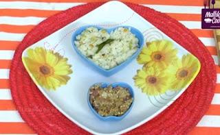 Arisi Upma With Kathirikai Thogayal in Tamil | Mallika Badrinath Recipes