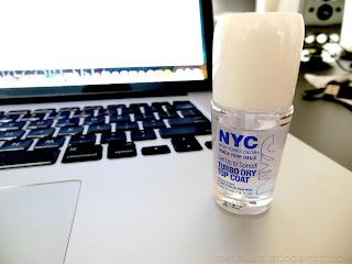 NYC – Get Up To Speed! Turbo Dry Top Coat [recenzja]