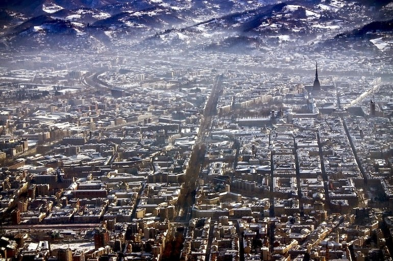 aerial photography - Turin, Italy