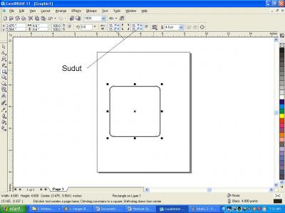 Advertising of Product: Belajar Corel Draw Mudah - Membuat Kotak