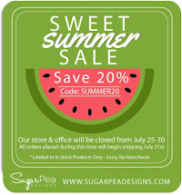 SugarPea Designs SUMMER SALE