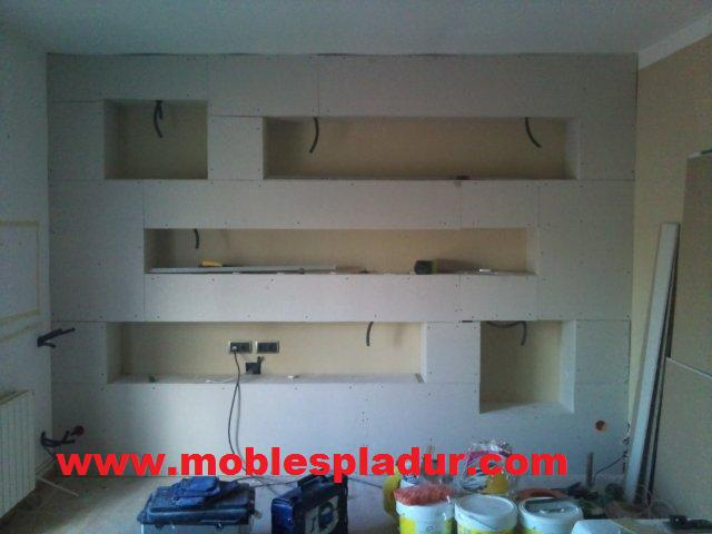 Pladur barcelona: mueble de obra pladur