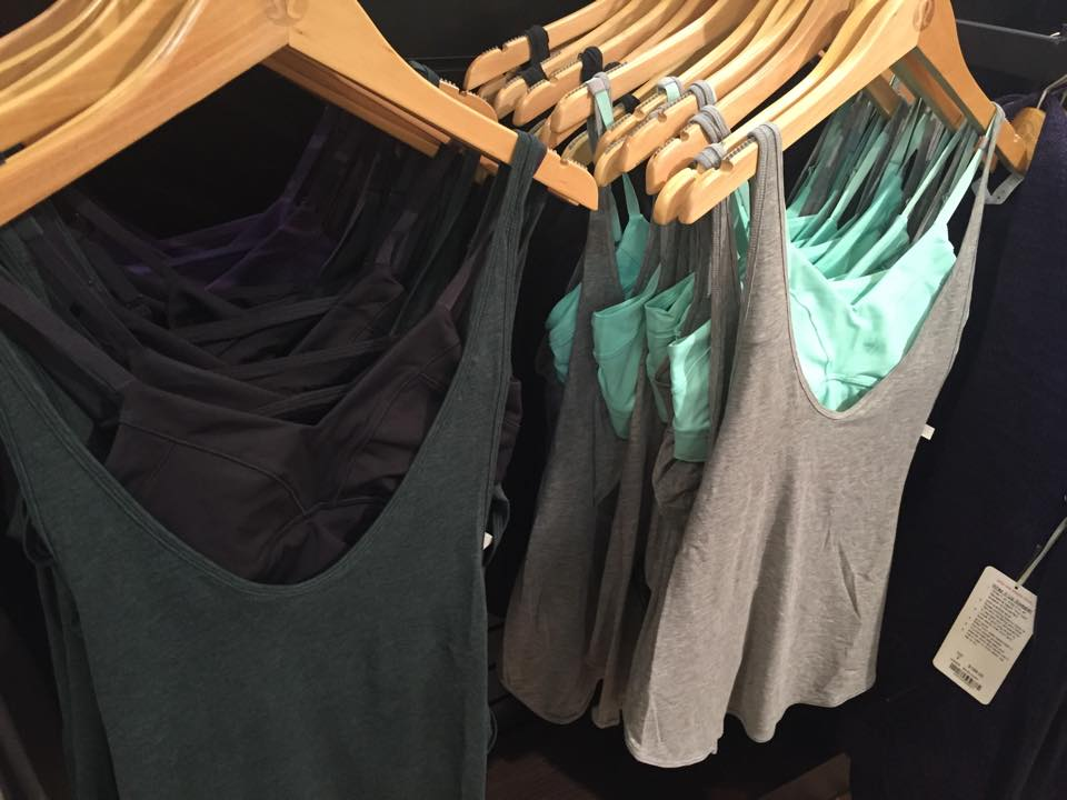 lululemon twist n turn tanks