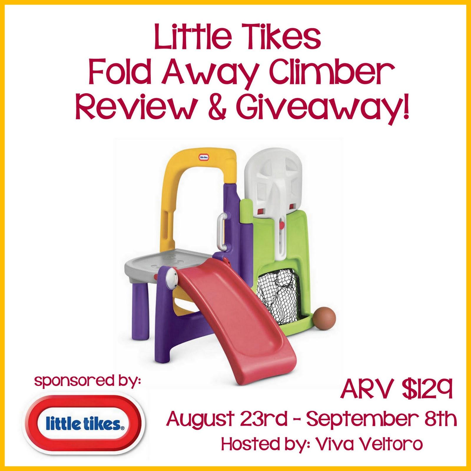 Little Tikes Fold Away Climber Review! - Viva Veltoro