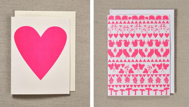 Tarjetas de San Valentín Valentine Postcards