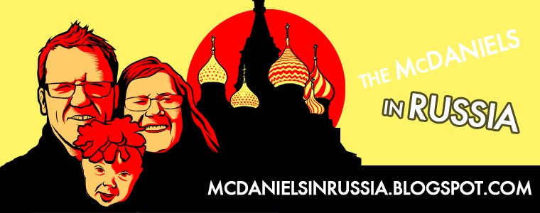 McDaniels in Russia