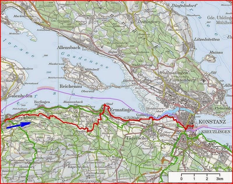 Pfannenstiel Wanderblog Vom Untersee zum Bodensee Steckborn