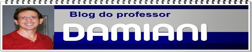 Blog do Prof. Damianni