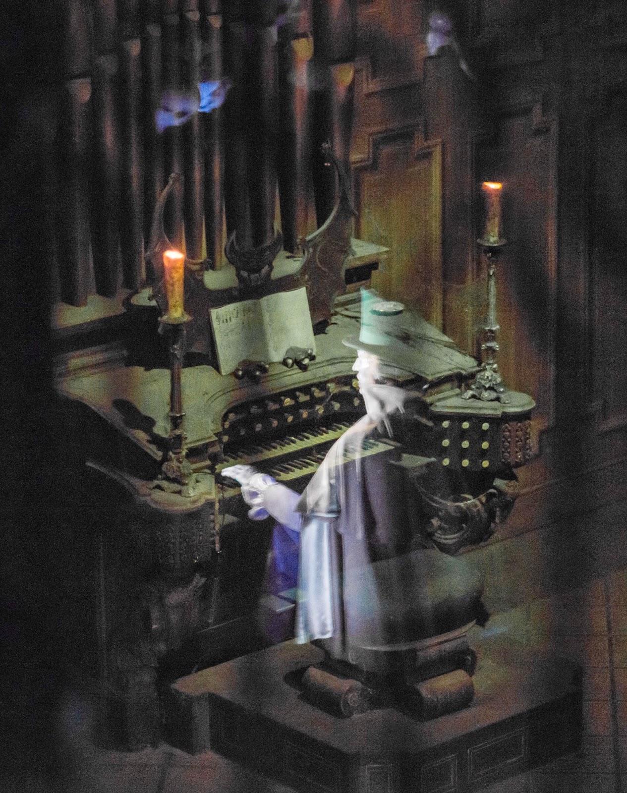 Haunted Mansion Foyer Organ Sheet Music : Mickeyphotos february