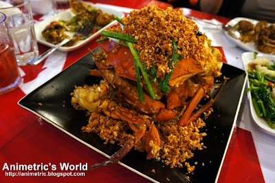 Typhoon Shelter Crab at Komrad