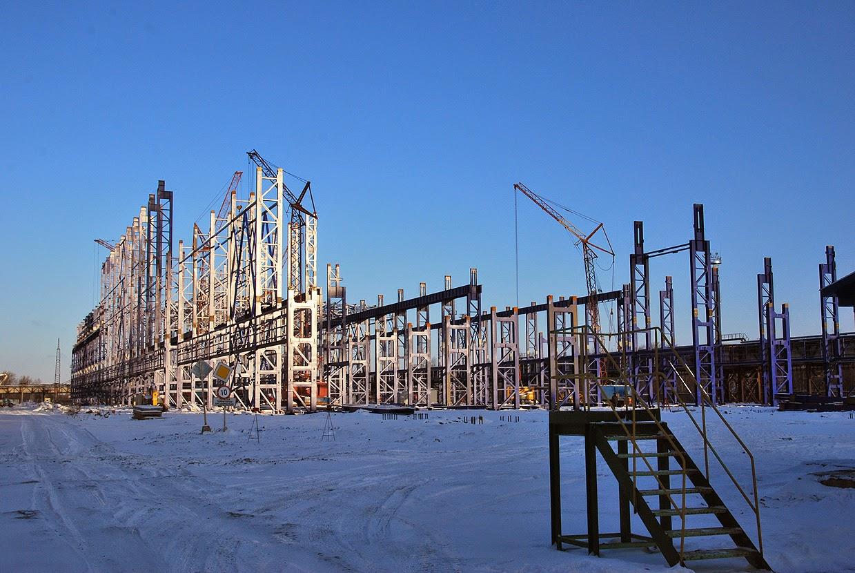 Лысьва строительство нового цеха Полистила
