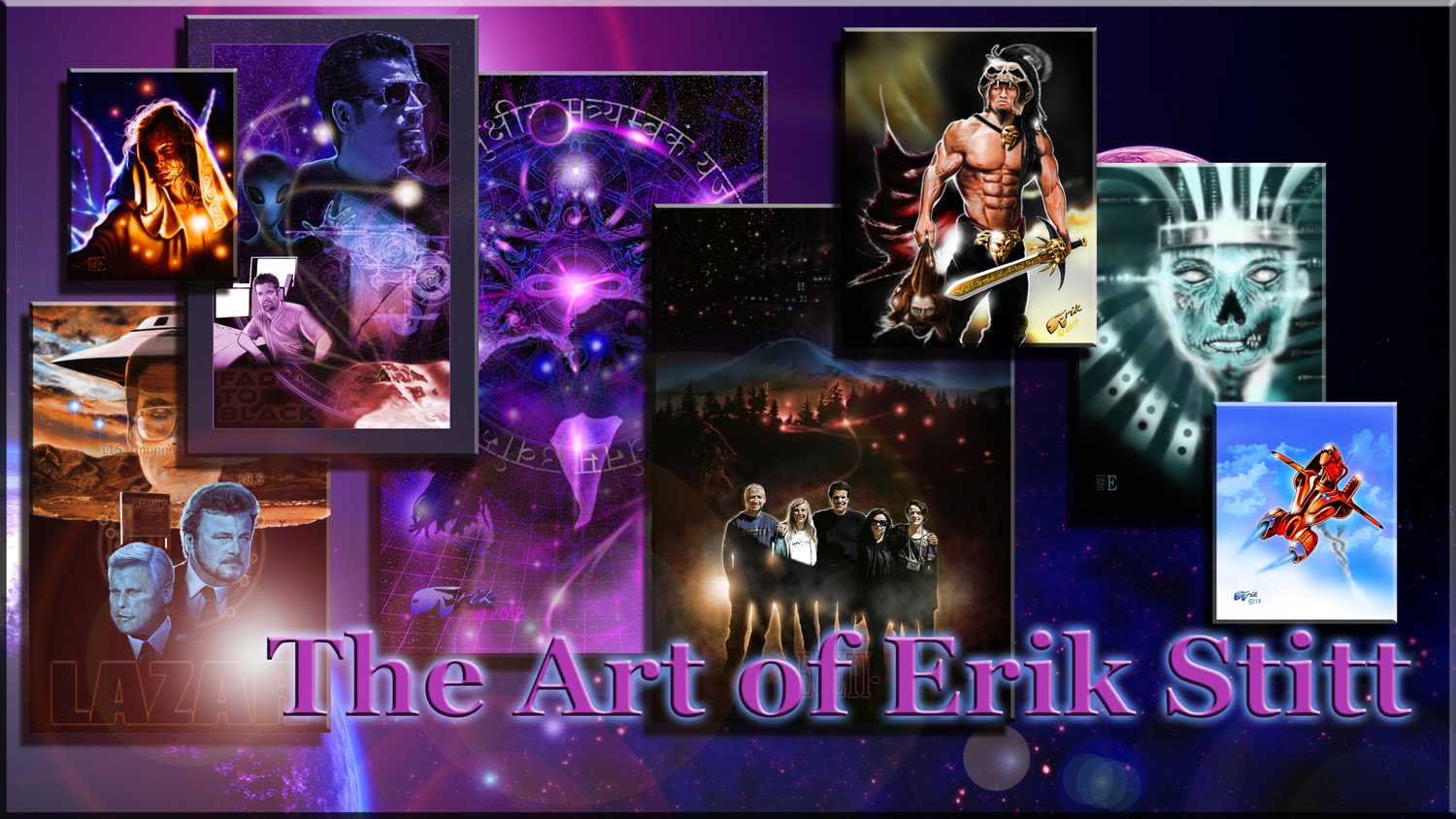 The Art of Erik Stitt