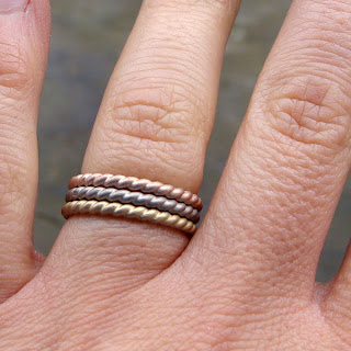 matte wedding bands