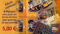 """""""Os Eléctricos de Lisboa - Livro de Postais"""""""