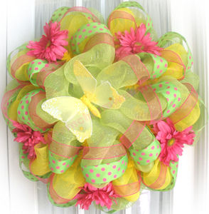 learn deco mesh wreaths