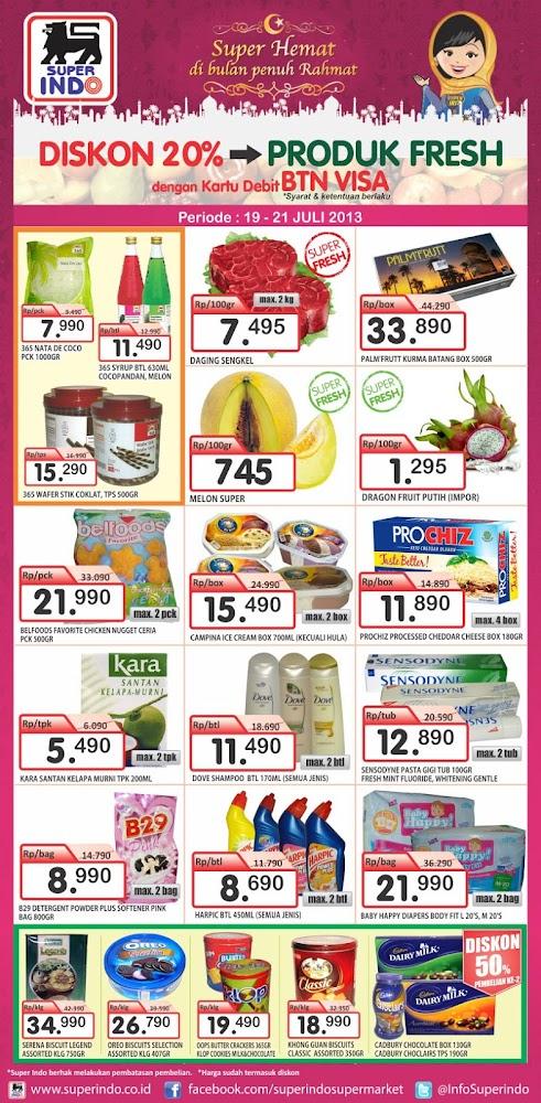 Katalog Superindo Weekend Promo Terbaru Periode 19-21 Juli 2013