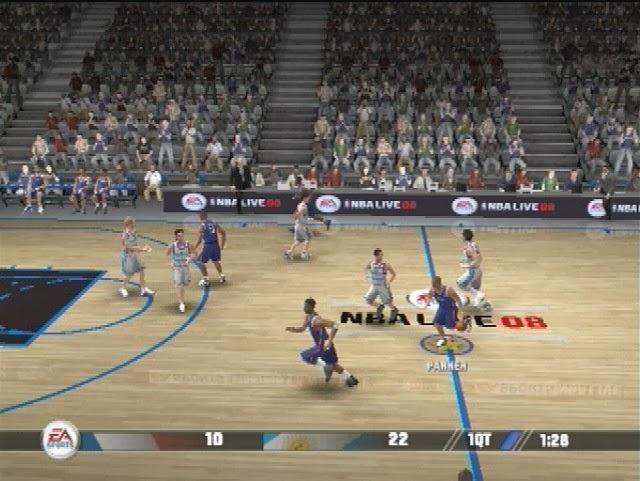 شرح تحميل وتتبيث لعبة  الأسطورة NBA Live 08 مضغوطة بحجم 300 ميجا