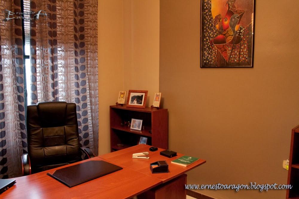 Ernesto arag n pintura para el hogar un toque de - Como decorar un despacho en casa ...