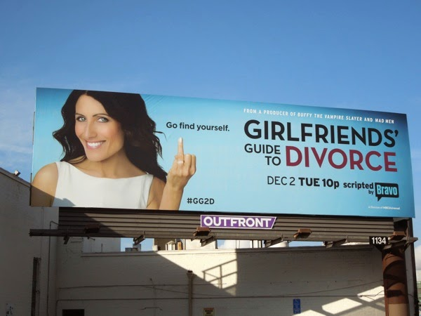 Girlfriends Guide to Divorce series premiere Bravo billboard