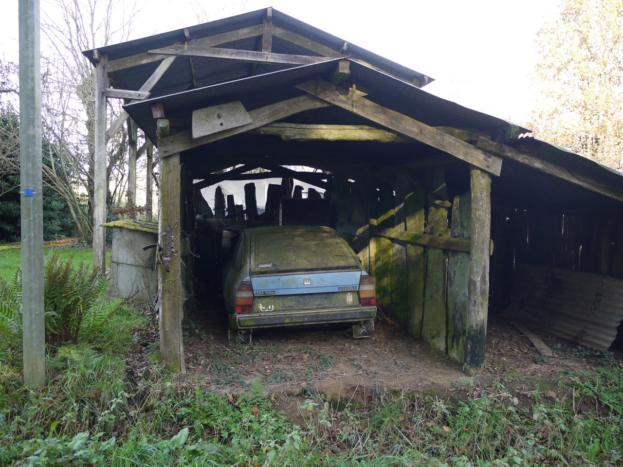 Bocad ve un hameau de saint just for Garage saint just