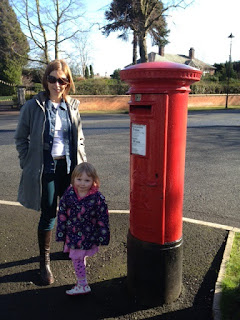 Postbox Being Upstaged