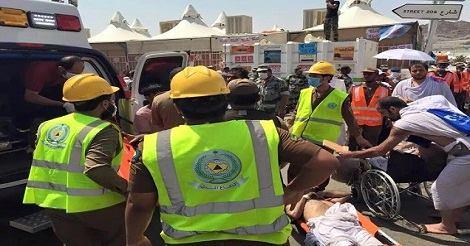 تفاصيل وفاة مئات الحجاج صبيحة اليوم بالسعودية
