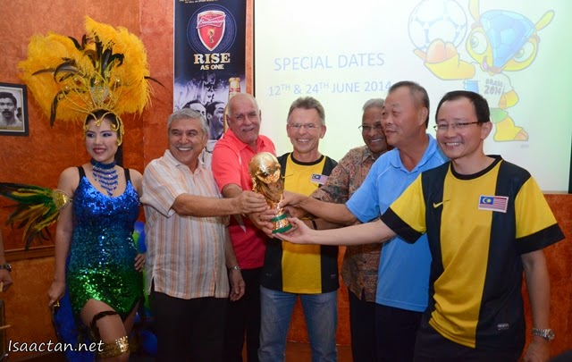 And it's launched, the Mezzo Bar as Renaissance KL Hotel's World Cup 2014 venue
