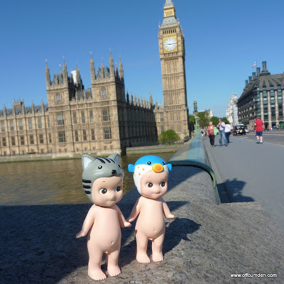 Sonny angel cat and blowfish see Parliament