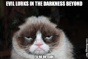 Grumpy cat has a fan following at my house. My husband loves the captioned .