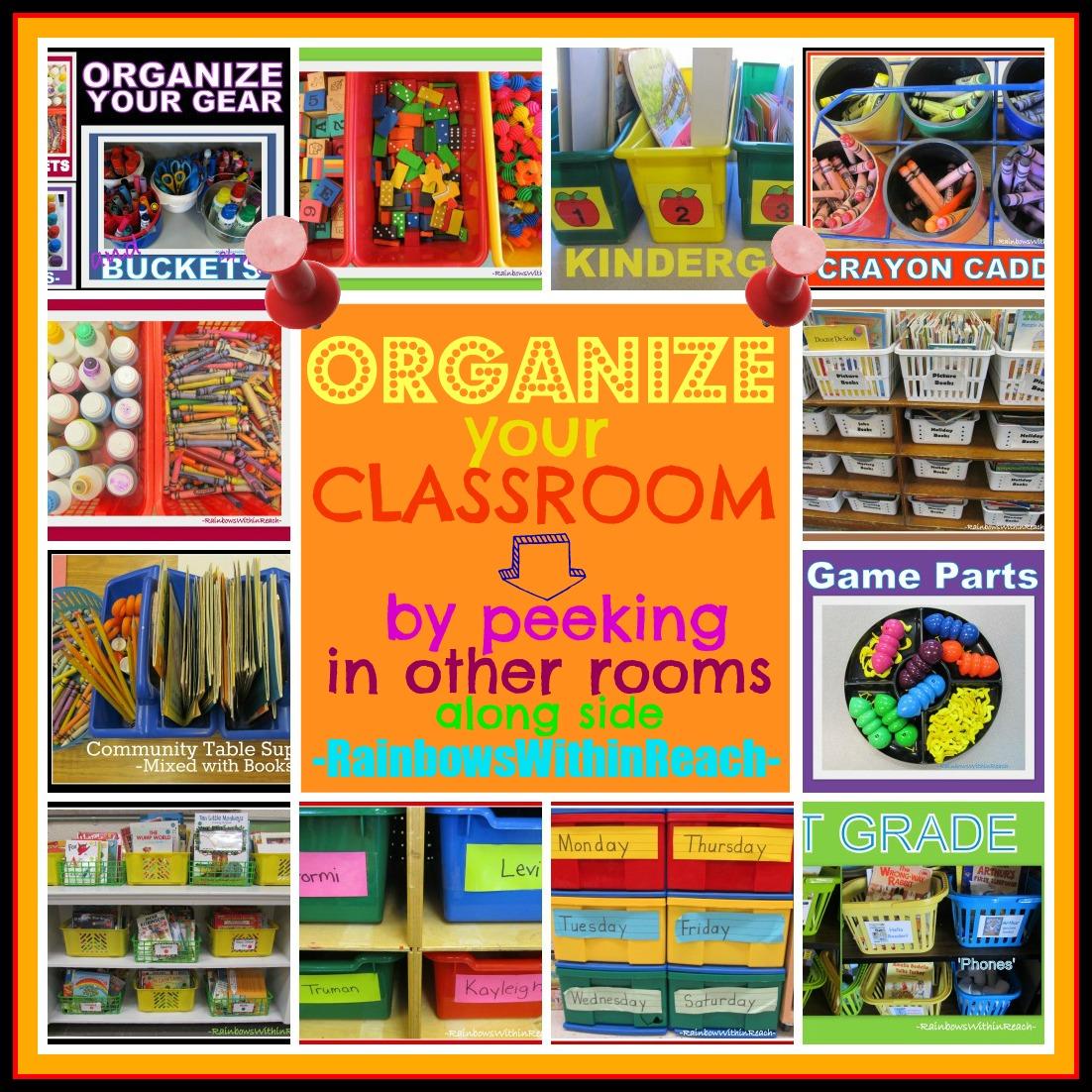 Classroom Organization Ideas : Prekandksharing spot