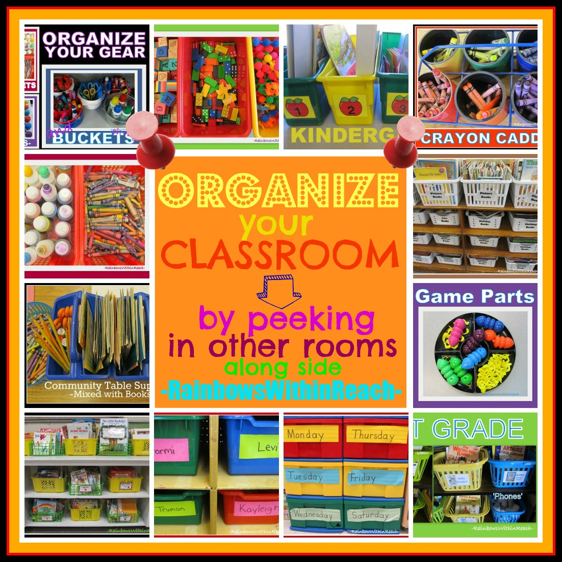 Classroom Organisation Ideas ~ Prekandksharing spot