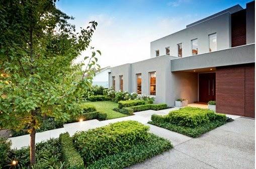 Ide desain taman modern
