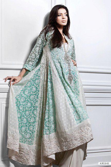 Jahanara Fashion: SANA SAFINAZ EXPORT DRESS COLLECTION 2011-12