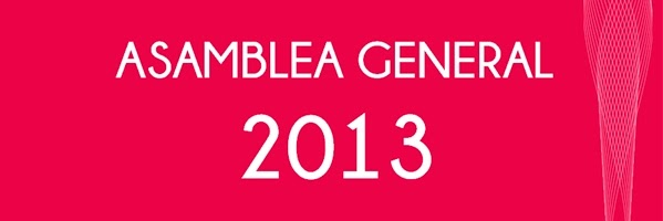 ASAMBLEA GENERAL APA 2013