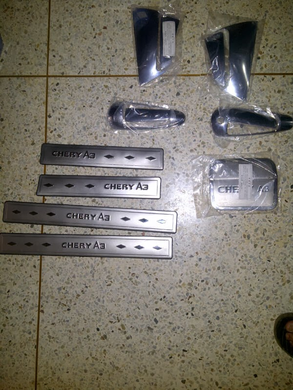 Kit Cromado Chery Orinoco 0 A3