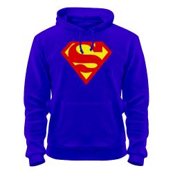 толстовка супермена