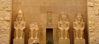 Templo de Abu Simbel no Egipto