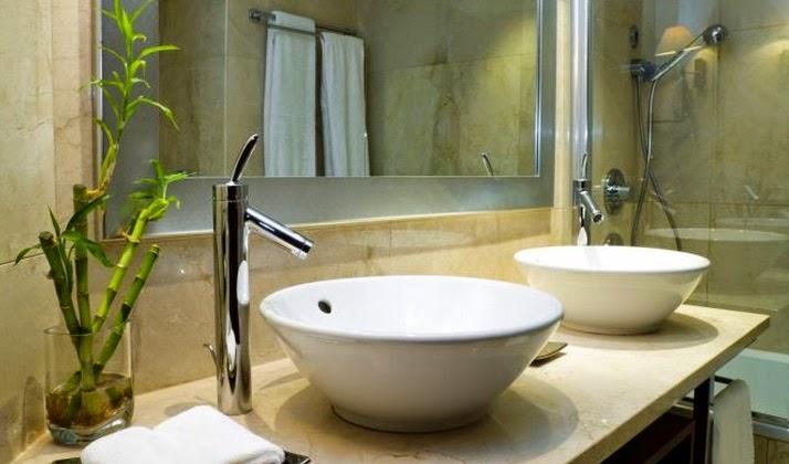 Mesadas y bachas o lavatorios modernos