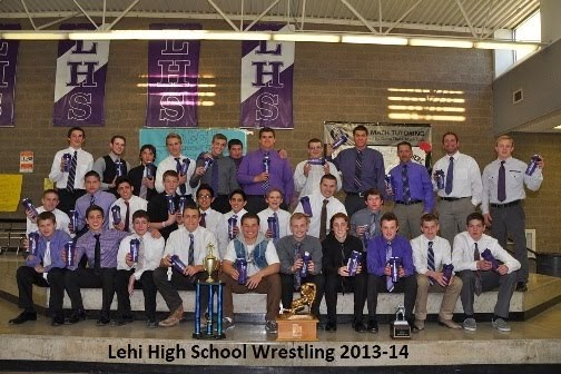 LHS Wrestling Loves Using Blender Bottle