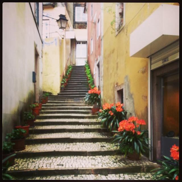 Sintra historic city center
