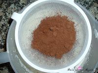 Tamizando el cacao