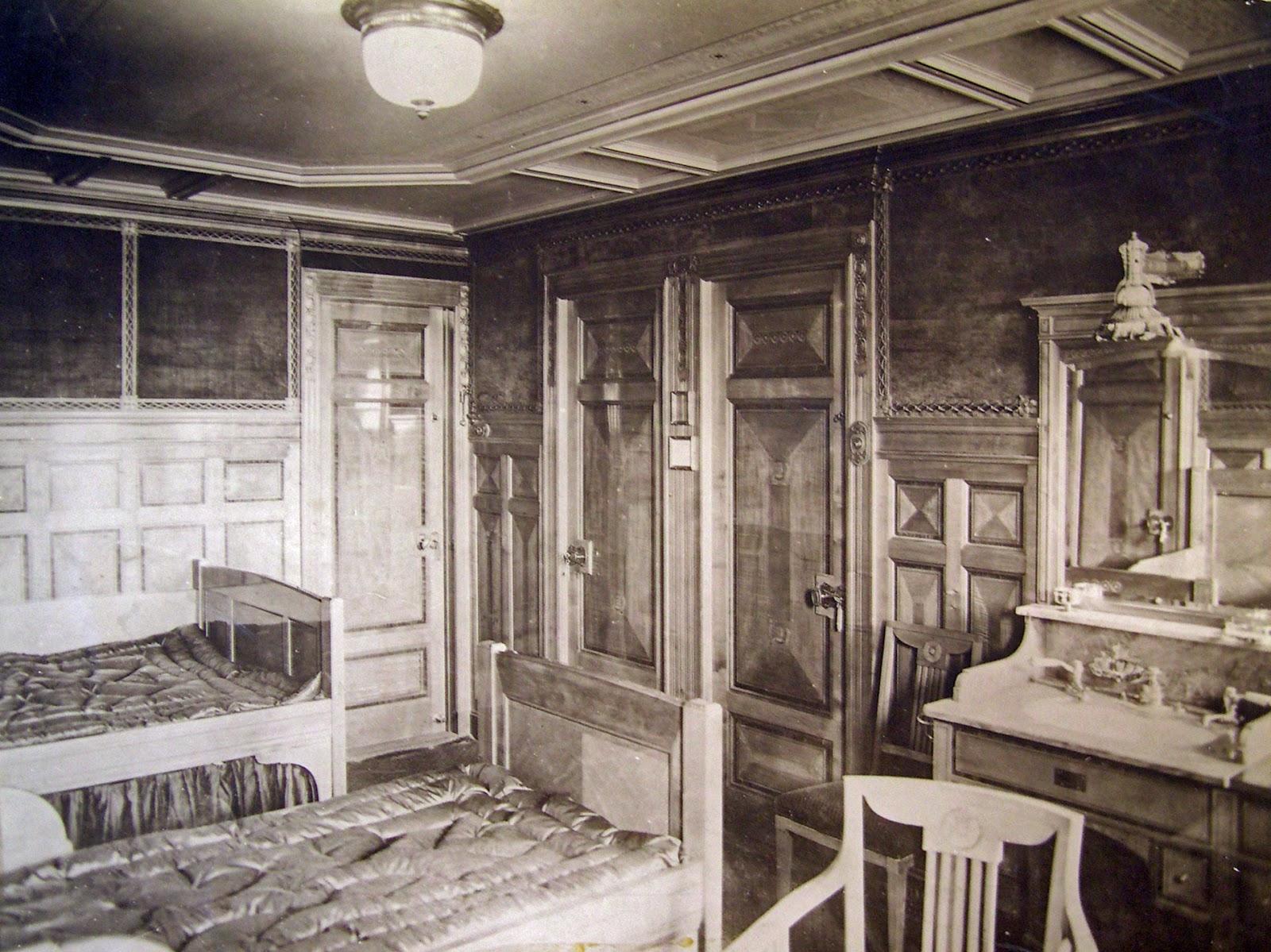 De bronnen van clio de ramp met de titanic 3 het for Titanic epave interieur